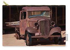 Rusty Truck 04 Carry-all Pouch by Wally Hampton