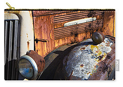 Rusty Truck Detail Carry-all Pouch by Garry Gay