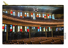 Carry-all Pouch featuring the photograph Ryman Colors by Glenn DiPaola