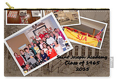 S J A Reunion Collage Picture Pile Carry-all Pouch