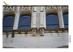 Carry-all Pouch featuring the photograph Sa Gargoyles  by Shawn Marlow