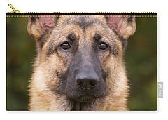 Sable German Shepherd Dog Carry-all Pouch by Sandy Keeton
