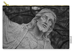 Sacred Heart Of Jesus - Bw Carry-all Pouch