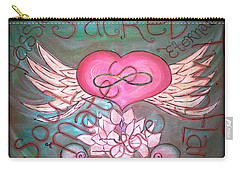 Sacred Soulmates And Twin Flames Carry-all Pouch