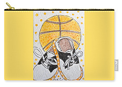 Saddle Oxfords And Basketball Carry-all Pouch by Kathy Marrs Chandler