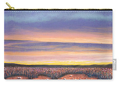 Sagebrush Sunset A Carry-all Pouch