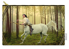 Sagittarius Carry-all Pouch by Linda Lees