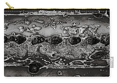 Saguaro Cactus Black And White 2 Carry-all Pouch