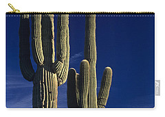 Saguaro Cactus Sunset Arizona State Usa Carry-all Pouch
