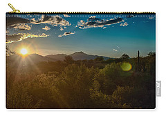Carry-all Pouch featuring the photograph Saguaro National Park by Dan McManus