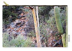 Saguaro Skeleton Carry-all Pouch