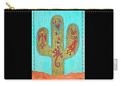 Saguaro Soiree Carry-all Pouch