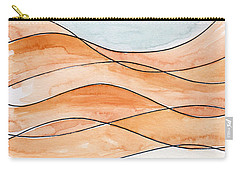 Sahara Sand Dunes Carry-all Pouch