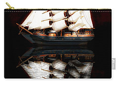 Carry-all Pouch featuring the photograph Sail Away by Aaron Berg