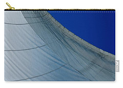 Carry-all Pouch featuring the photograph Sail Away by Christiane Hellner-OBrien