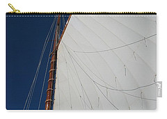 Carry-all Pouch featuring the photograph Sail Away With Me by Photographic Arts And Design Studio