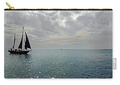 Sailboat At Sea  Carry-all Pouch