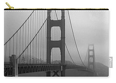 Sailboat Passing Under Golden Gate Bridge Carry-all Pouch