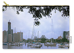 Sailboats In Brisbane Australia Carry-all Pouch