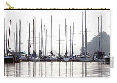 Sailboats Reflected Carry-all Pouch