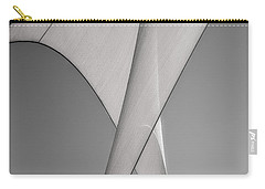 Sailcloth Abstract Number 3 Carry-all Pouch by Bob Orsillo