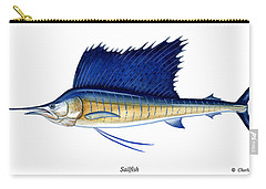 Sailfish Carry-all Pouch by Charles Harden