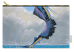 Sailfish Dance Off0054 Carry-all Pouch by Carey Chen