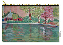 Sailin' Away In Central Park Carry-all Pouch