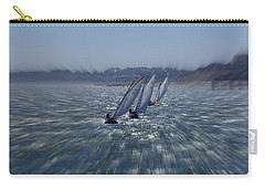 Sailing Boats Racing Carry-all Pouch