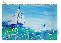 Sailing By Jan Marvin Carry-all Pouch