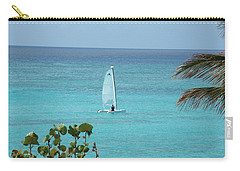 Carry-all Pouch featuring the photograph Sailing by David S Reynolds