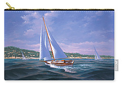Sailing On Monterey Bay Carry-all Pouch