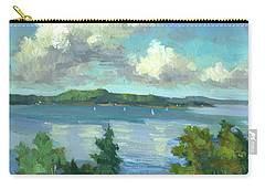 Sailing On Puget Sound Carry-all Pouch
