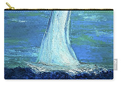 Sailing On The Blue Carry-all Pouch
