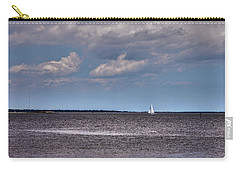 Carry-all Pouch featuring the photograph Sailing by Sennie Pierson