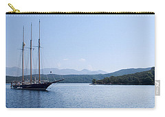 Sailing Ship In The Adriatic Islands Carry-all Pouch