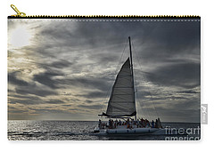 Sailing The Caribbean Carry-all Pouch