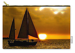 Sailing The Keys Carry-all Pouch by Iconic Images Art Gallery David Pucciarelli