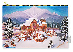Saint Catherine Chapel Carry-all Pouch