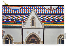 Saint Mark Church Facade Vertical View Carry-all Pouch