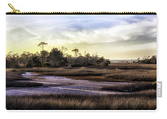 Saint Marks Wetland Sunset Carry-all Pouch