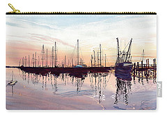 Saint Marys Marina   Shadows Light And Fire Carry-all Pouch