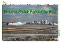 Saint Patrick's Greeting Across The Mersey Carry-all Pouch