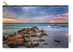 Saint Pete Beach Stormy Sunset Carry-all Pouch