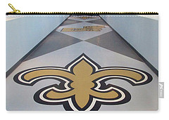 Saints Are Coming - Benson Towers - New Orleans La Carry-all Pouch