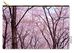 Carry-all Pouch featuring the photograph Sakura Tree by Andrea Anderegg