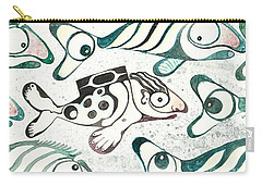 Salmon Boy The Swimmer Carry-all Pouch