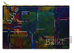 Carry-all Pouch featuring the painting Salsa Ballet by Lisa Kaiser