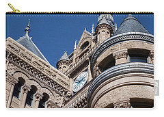 Carry-all Pouch featuring the photograph Salt Lake City - City Hall - 1 by Ely Arsha