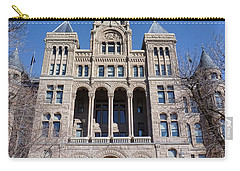 Carry-all Pouch featuring the photograph Salt Lake City - City Hall - 2 by Ely Arsha